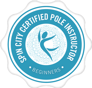 Spin City Certified Pole Instructor Beginners logo